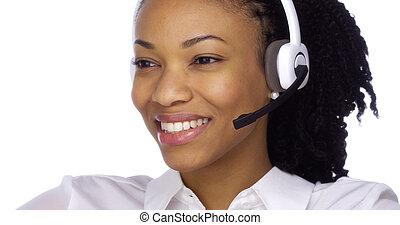 client, amical, service