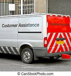 client, assitance