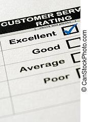 client, classement, service, excellent