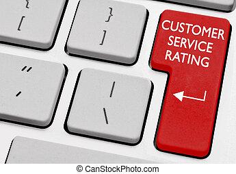 client, classement, service