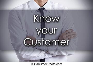 client, concept, business, texte, -, jeune, savoir, homme affaires, ton