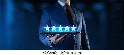 client, concept, service, business, satisfaction, technologie internet