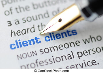 Client - Dictionary Series