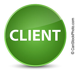 Client elegant soft green round button