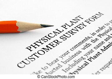 client, enquête, formulaire