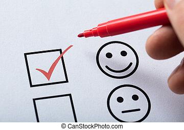 client, formulaire, service, satisfaction, placé, enquête, tique