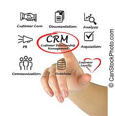 client, gestion, relation