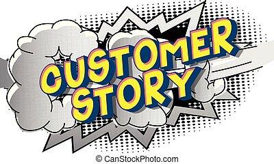 client, histoire