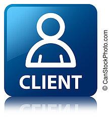 Client (member icon) blue square button