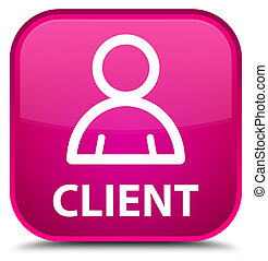 Client (member icon) special pink square button