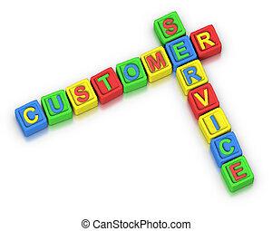 client, mots croisés, :, service