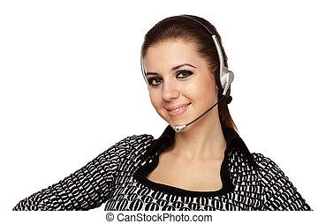 client, opérateur, soutien, service