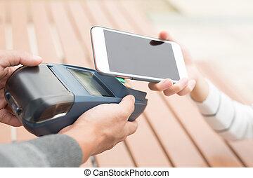 client, payer, cellphone