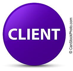 Client purple round button