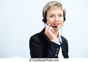 client, représentant, service