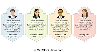 Client testimonials - Design speech diagram for infographic ...