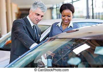 client, voiture, projection, mûrir, africaine, nouveau,...