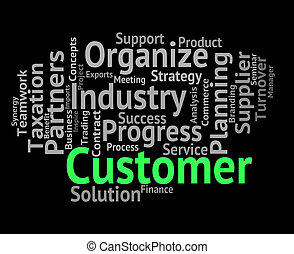 cliente, clientes, palabra, clientele, patrocinadores, ...