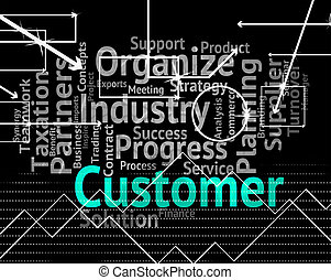 cliente, clientes, palabra, medios, clientele, ...