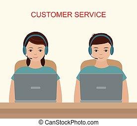 cliente, concept., servizio