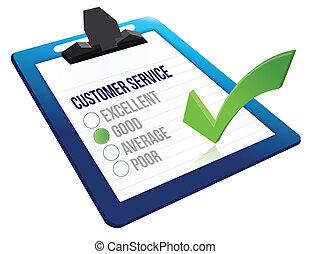 cliente, concetto, servizio