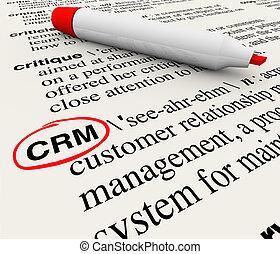cliente, definição, gerência, relacionamento, dicionário, ...