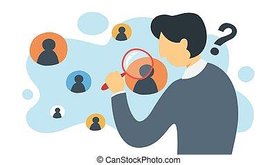 cliente, empresa / negocio, kyc, concept., idea, su, saber, o