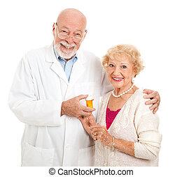 cliente, farmacêutico