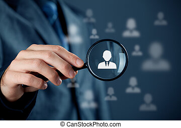 cliente, individuale, servizio, crm