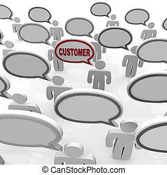 cliente, nicho, uno, mercado, atestado