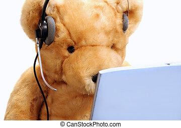 cliente, orso, servizio