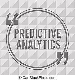 cliente, predictive, conceito, palavra, negócio, texto,...
