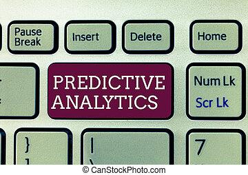 cliente, predictive, conceito, texto, crmidentify,...