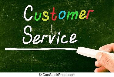 Cliente, Servizio