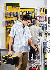 clientes, herramientas, compra, tienda