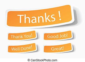 clienti, ringraziamento, servizio
