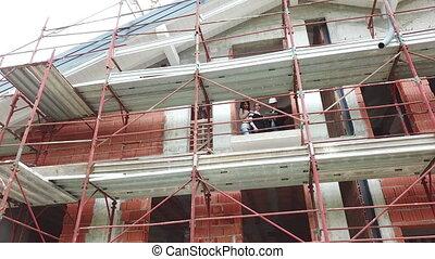 clients, appartement, site, construction, nouveau, achat, ingénieur