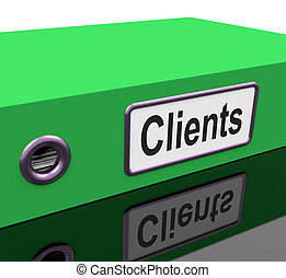 Clients File Containing Customer Buying Records - Clients...
