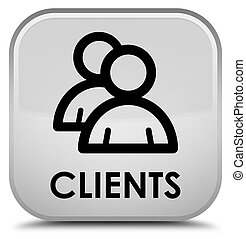 Clients (group icon) special white square button