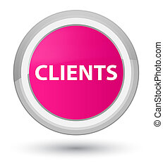 Clients prime pink round button