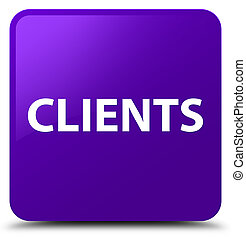 Clients purple square button