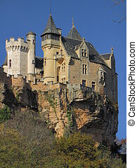 Cliff, Castle, Montfort , fortification, rampart,