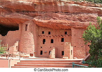 Cliff Dwellings Pueblo