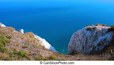 cliff in South Downs
