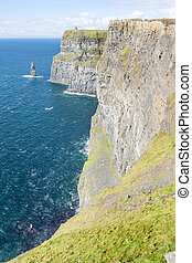 Cliff of Moher - Cliffs of Moher in County Clare, Ireland