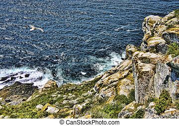 Cliff on Cies Islands