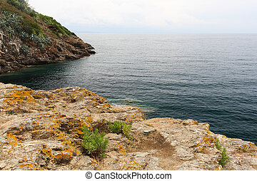 Cliff with the sea-2