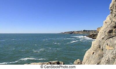 Cliffs at Cascais, Portugal