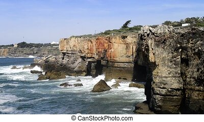 Cliffs at Cascais, Portugal