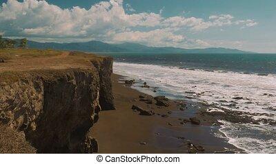 Cliffs At Peon de Guacalillo, Costa Rica- Graded Version -...